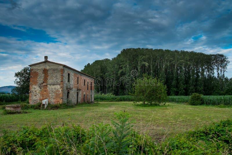 Padule di Fucecchio, parque natural, Toscana foto de archivo libre de regalías