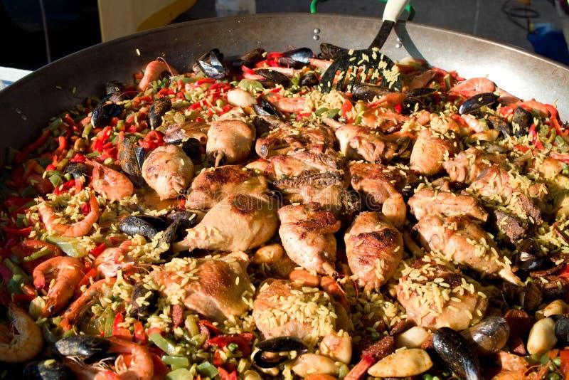 paella стоковые изображения rf