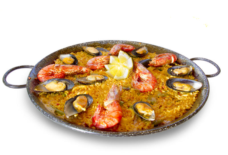 Paella стоковая фотография rf