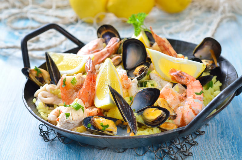 Paella photo stock