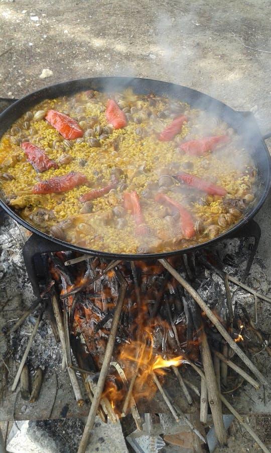 paella imagens de stock
