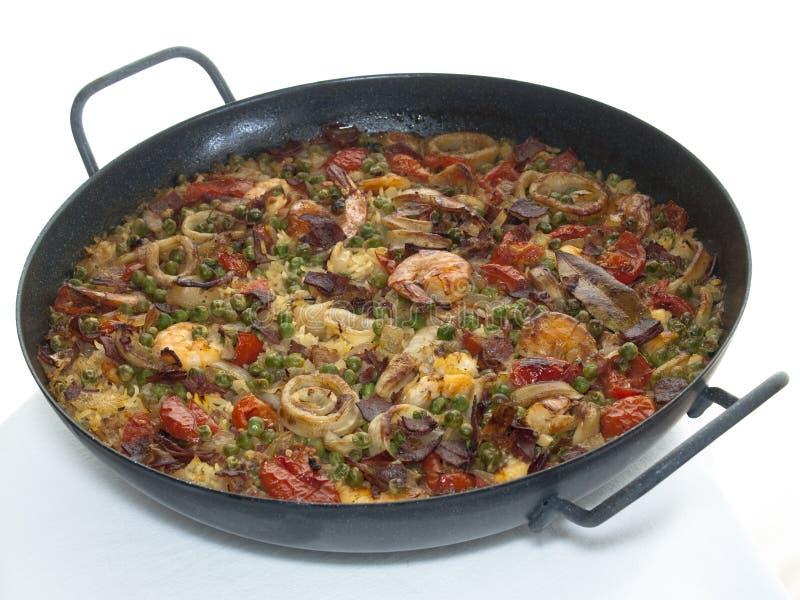 paella стоковая фотография