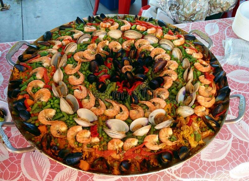 paella στοκ εικόνες