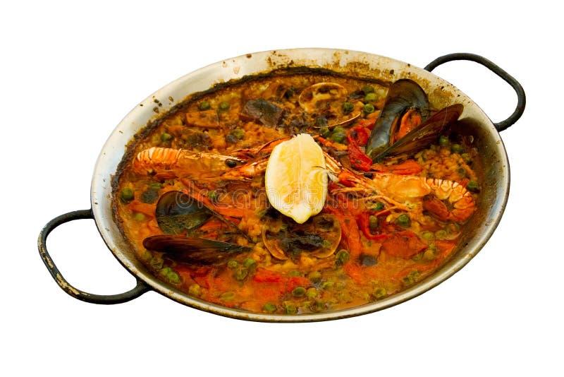 Paella espagnole images stock
