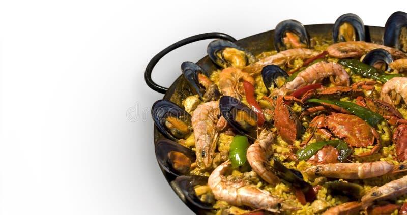 paella spanish obraz stock