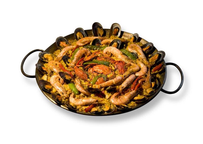 paella spanish zdjęcie royalty free