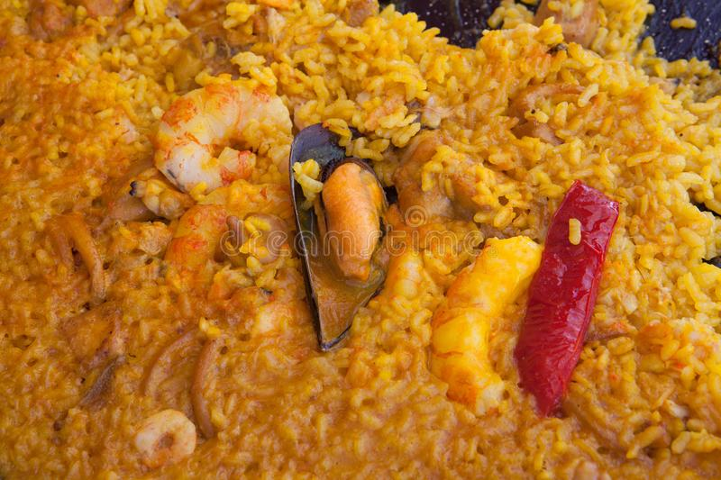 Paella royalty free stock images