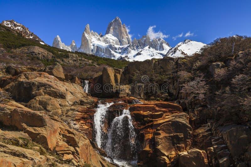 Paesaggi dell 39 argentina del sud fitz roy fotografia stock for Interno delle piantagioni del sud