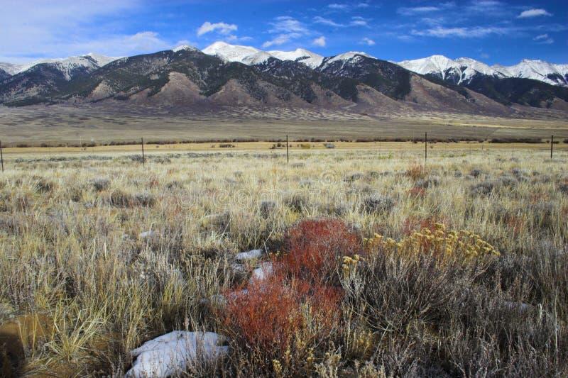Paesaggi della montagna fotografia stock libera da diritti