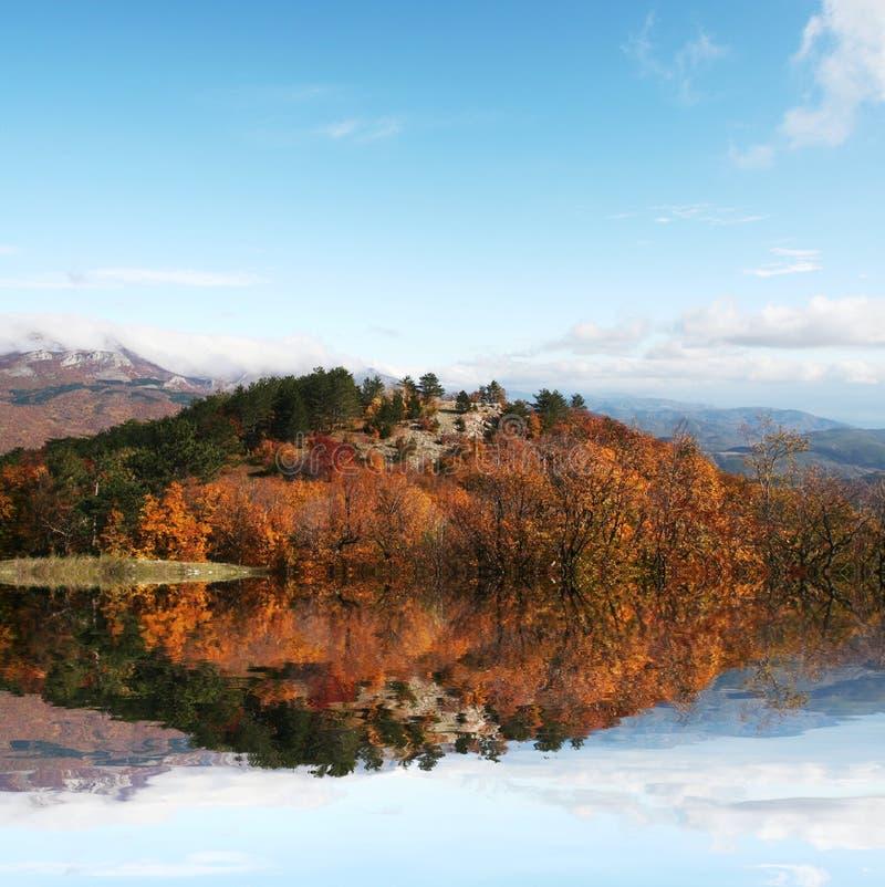 Paesaggi di autunno fotografie stock