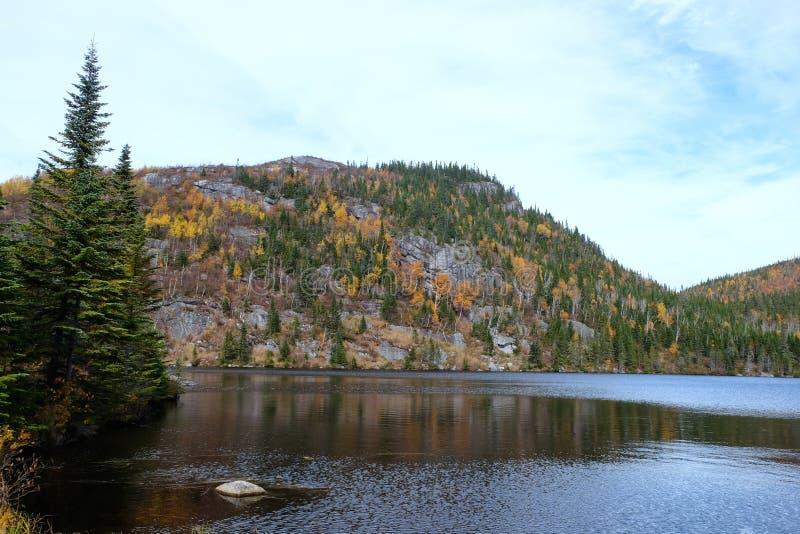 Paesaggi di caduta, Canada immagine stock