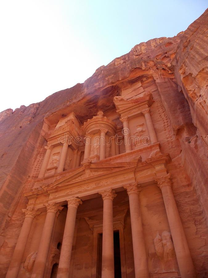 Paesaggi di PETRA, Giordania immagini stock libere da diritti