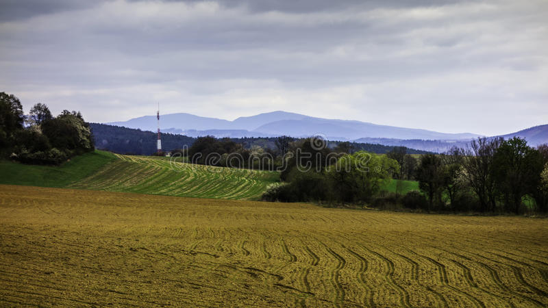Paesaggi slovacchi fotografie stock