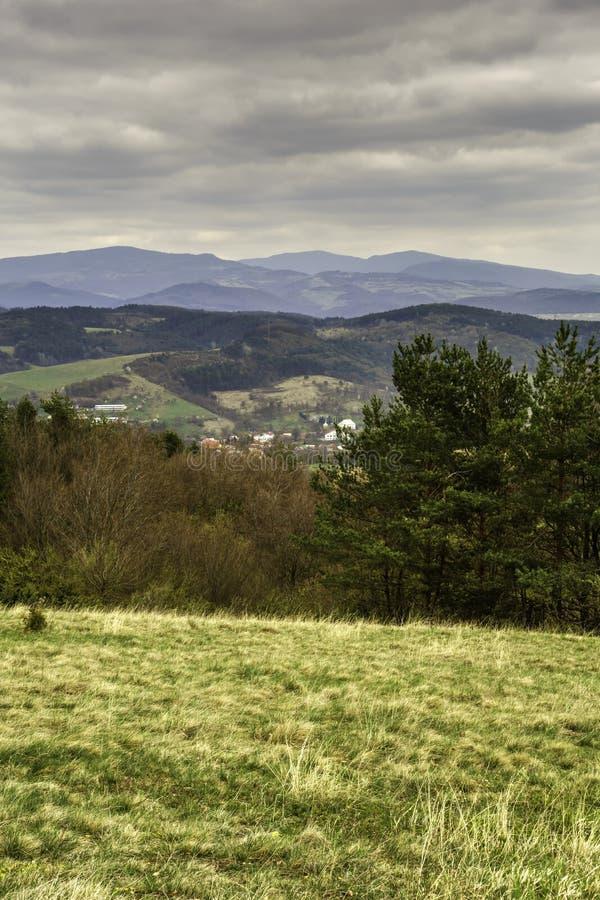 Paesaggi slovacchi immagine stock libera da diritti
