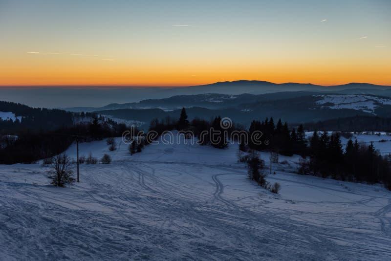 Paesaggi slovacchi immagine stock