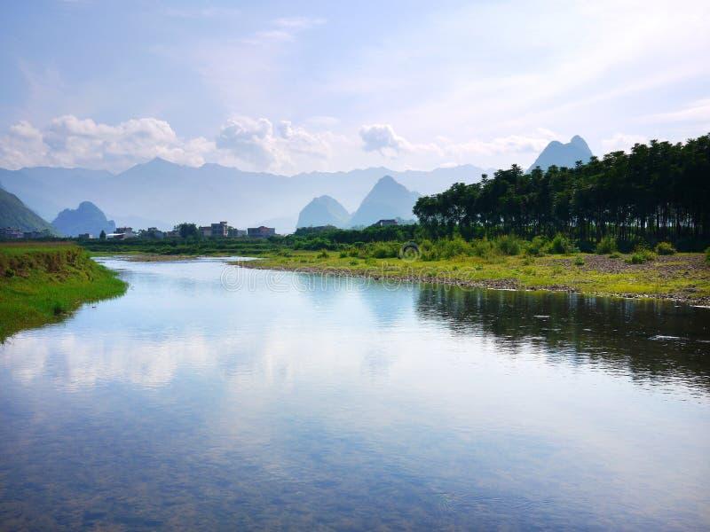 Paesaggio 03 di Guilin fotografie stock libere da diritti