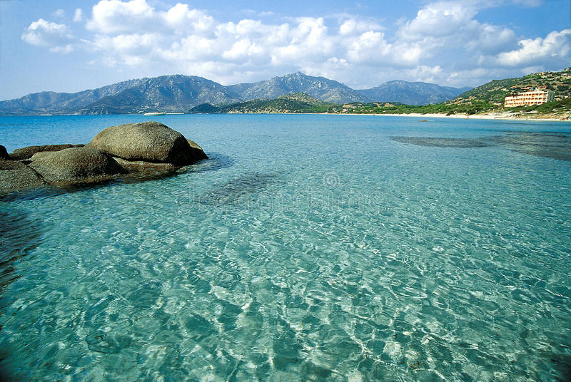 Paesaggio 5 di Sardinia_coastal fotografie stock libere da diritti