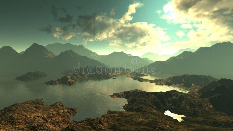 Download Paesaggio illustrazione di stock. Illustrazione di stagione - 7317154