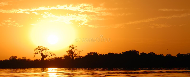 Paesaggio africano immagine stock libera da diritti