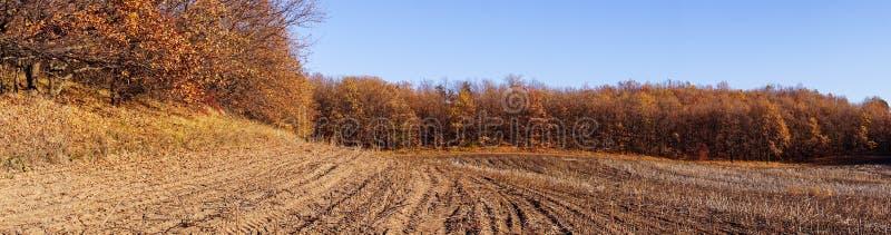 Paesaggio agricolo di autunno in Nuova Inghilterra, U.S.A. immagine stock libera da diritti