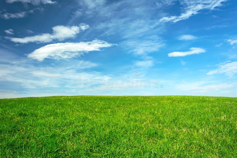 Paesaggio agricolo idilliaco fotografie stock libere da diritti