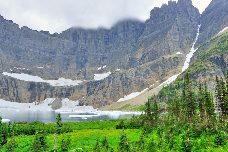 Download Paesaggio Alpino Del Glacier National Park Immagine Stock - Immagine di paesaggio, luminoso: 55358489