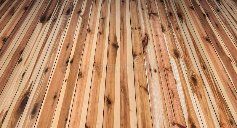 Paesaggio annodato rustico del fondo di legno di pino immagine stock
