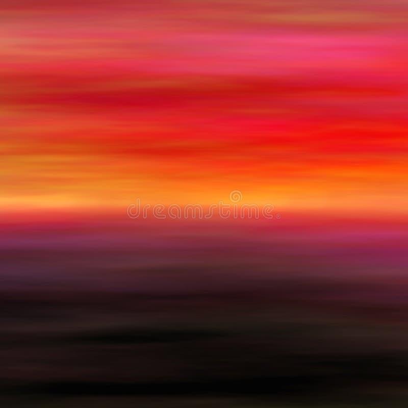 Paesaggio astratto 2 illustrazione di stock