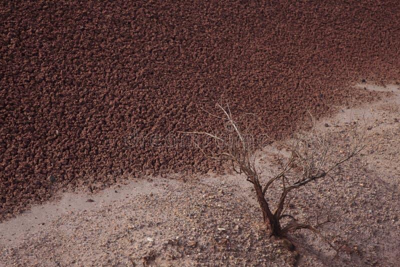 Paesaggio astratto verniciato delle colline fotografie stock libere da diritti