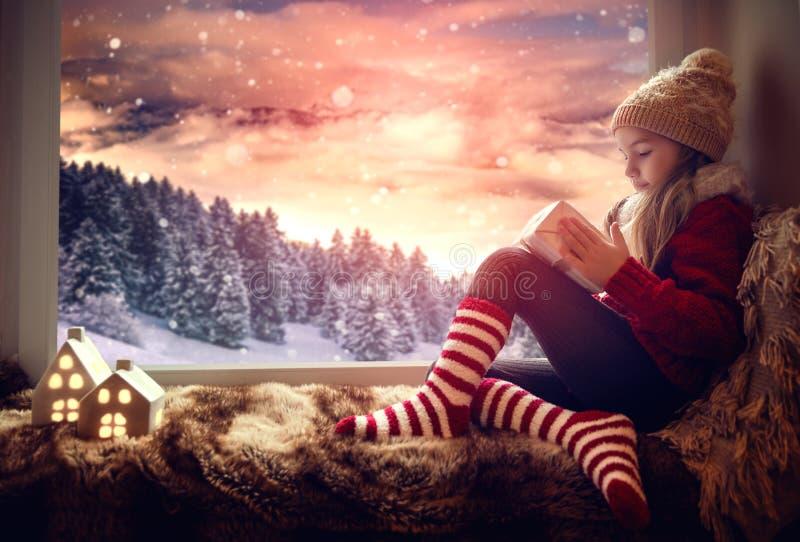 Paesaggio attuale di inverno immagine stock libera da diritti