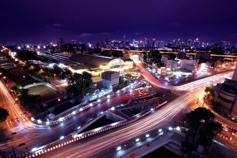 paesaggio Bangkok della città fotografia stock