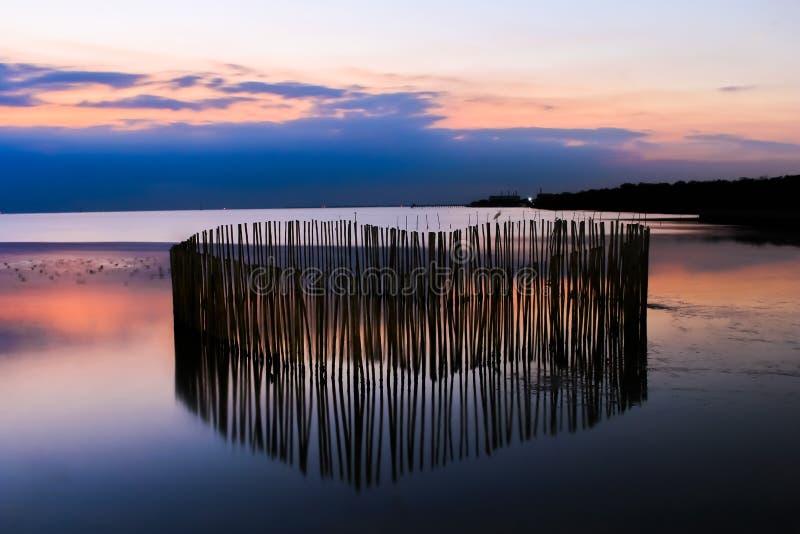 Paesaggio Bangpoo, punto di riferimento Samutprakarn della natura delle attrazioni della Tailandia fotografia stock libera da diritti
