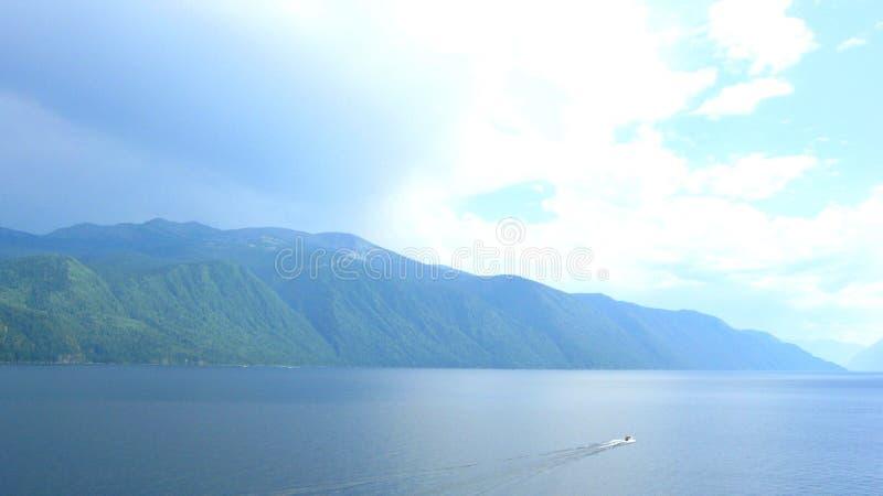 Paesaggio blu fotografia stock libera da diritti
