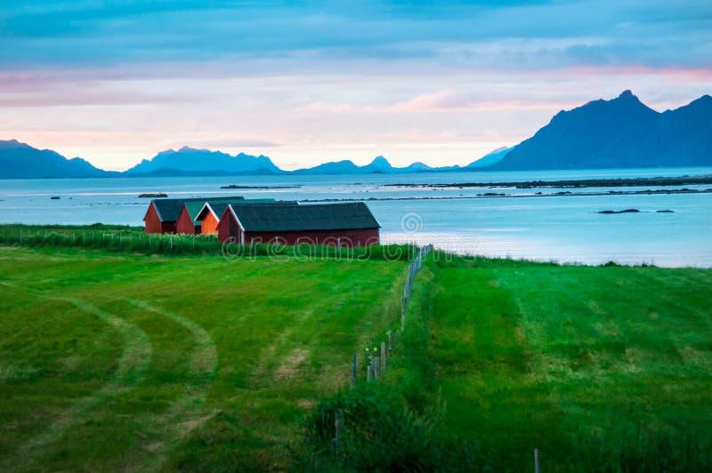 Paesaggio della Norvegia fotografie stock libere da diritti