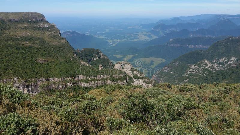 Paesaggio-colline-sc-brazil immagini stock
