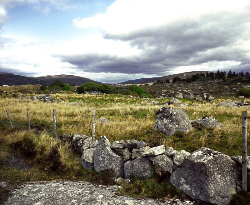 Paesaggio in Connemara fotografie stock