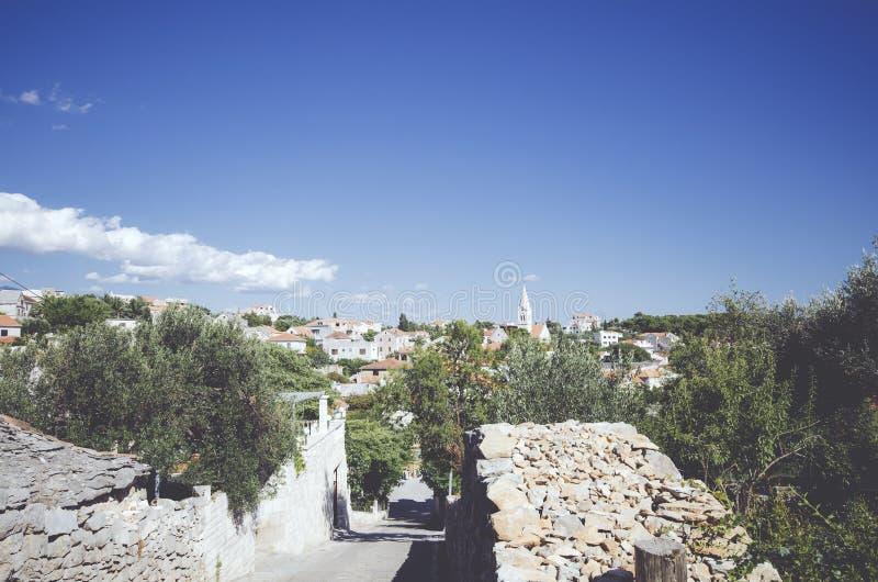 Paesaggio croato immagini stock libere da diritti