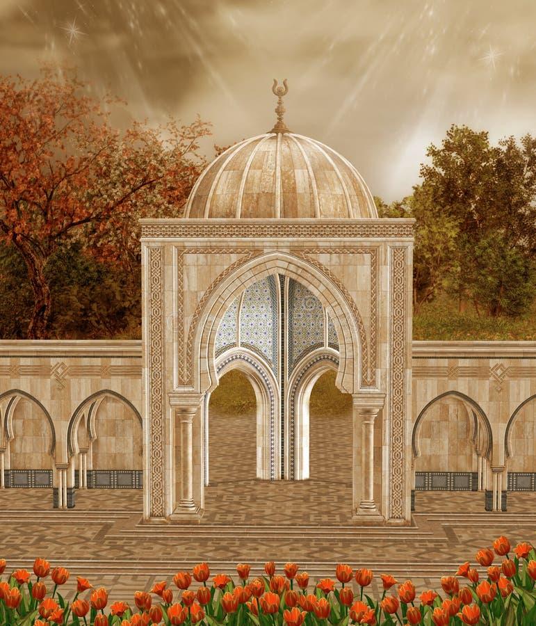 paesaggio d'autunno 2 illustrazione vettoriale