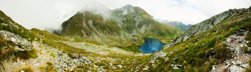 Paesaggio dal lago Capra in Romania immagini stock libere da diritti