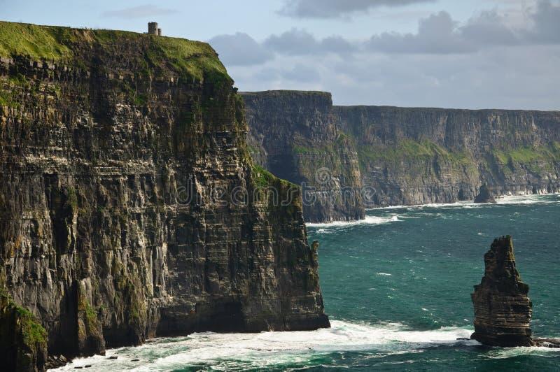 Paesaggio dalla costa ovest Irlanda fotografia stock libera da diritti