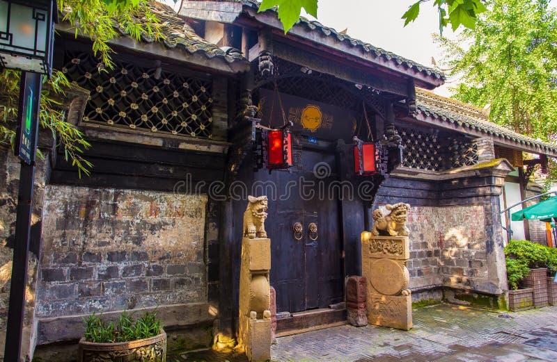 Paesaggio dei vicoli di Kuanzhai immagine stock