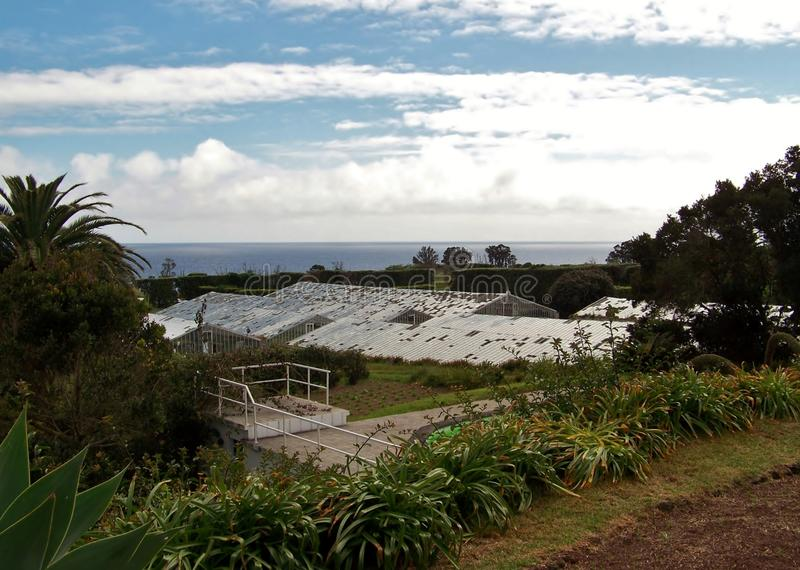 Paesaggio del Agua de Pau fotografie stock
