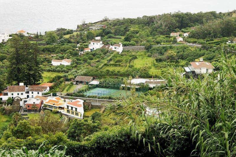 Paesaggio del Agua de Pau immagine stock libera da diritti
