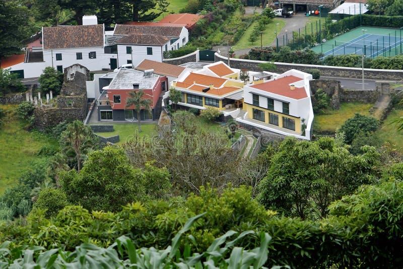 Paesaggio del Agua de Pau immagini stock
