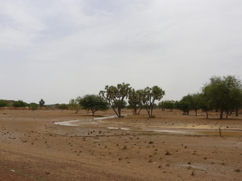 Paesaggio del Burkina Faso fotografia stock libera da diritti