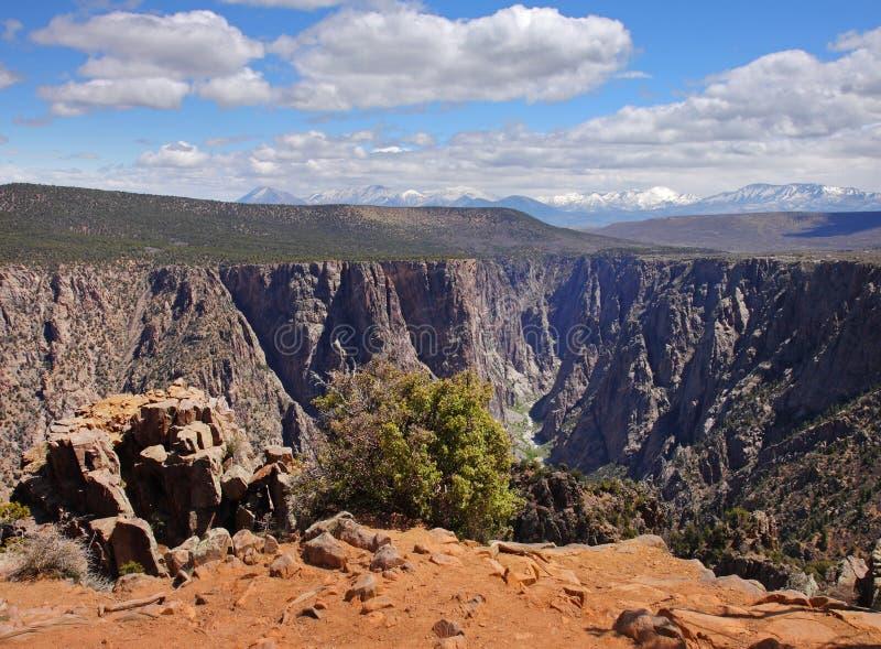 Paesaggio del canyon negli S.U.A. immagine stock libera da diritti