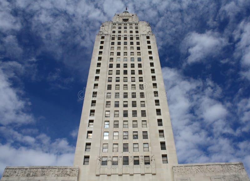 Paesaggio del capitale della Luisiana immagine stock libera da diritti