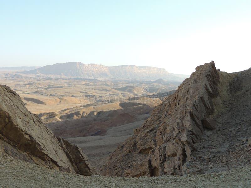 Paesaggio del deserto di rocce immagine stock