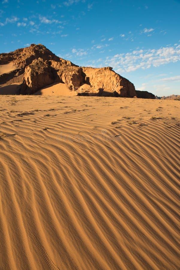 Paesaggio del deserto di Sinai fotografia stock libera da diritti