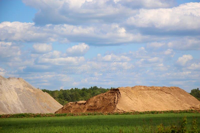 Paesaggio del distretto storico/paesaggio rurale di estate/ immagine stock
